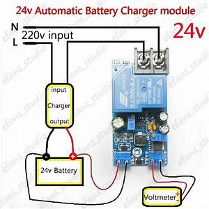 24v 30a Automatic Battery Charger Protection Module Auto