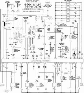 Toyota 1986 Efi System Wiring Diagram Engine 22rte