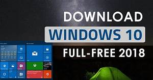 Windows 10 Iso Free Download Full Version 32  64 Bit 2019