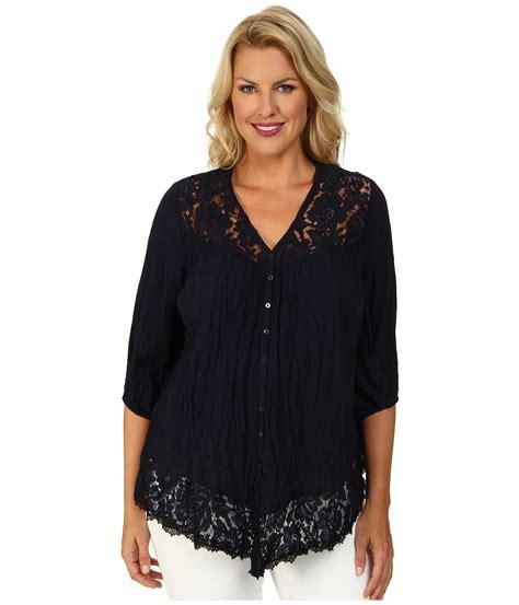 plus size lace blouse stretch lace top plus size images