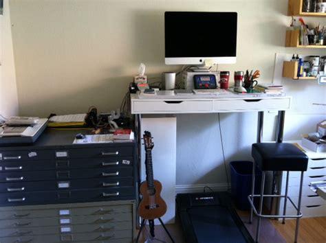 ikea hack treadmill desk ikea hack standing desk