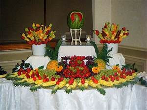Fruit table Designed Tables Pictures Weddings - Foods