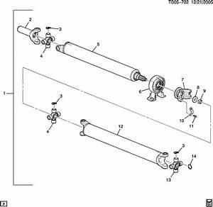 2006 Chevy Colorado Drive Shaft Diagram  Diagrams  Auto