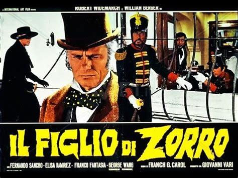 Il Figlio Di Zorro Film Completo By Film&clips Youtube