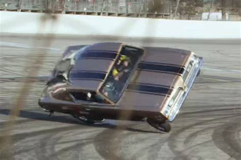 jay leno crashes   hemi  glass