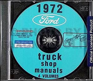 1972 Ford Truck Repair Shop Manual 5 Volume Set Original