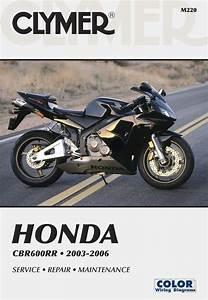 Honda Cbr600rr Motorcycle  2003