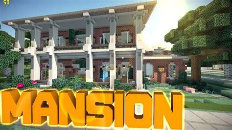 minecraft pe mansion world  keralis  youtube