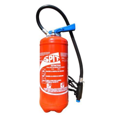 premiere classe chambre extincteur à eau avec additif 6 litres eurofeu spit gsp006 epa