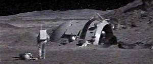 Alien Spacecraft On the Moon - Pics about space
