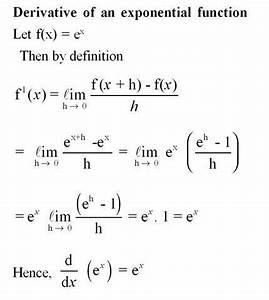 Derivative of exponential function. For more solutions to ...