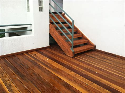 Australian Timber Oil On Pressure Treated Deck
