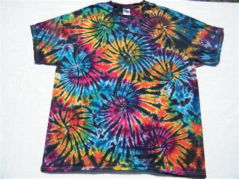 Tie Dye Shirt Black Fireworks Custom Made Tiedye Tye By Tiedye