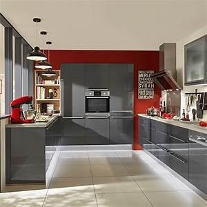 Element De Cuisine Conforama : meuble de cuisine gris conforama ~ Premium-room.com Idées de Décoration