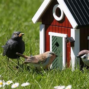 schwedenhaus rotbraun wildlife garden vogel und With katzennetz balkon mit wildlife garden vögel