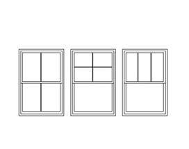 series double hung window