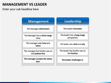 management  leader powerpoint template sketchbubble