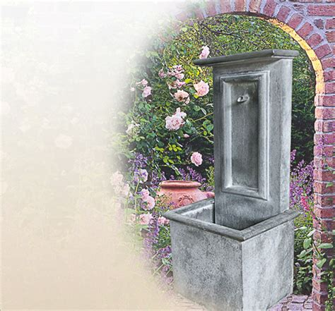 Springbrunnen Für Den Garten Aus Zink Kaufen  Online Shop