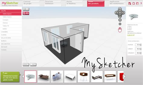logiciel plan cuisine logiciel d architecture 3d gratuit mysketcher ma
