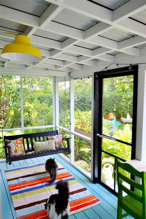 Porch Paint Colors Ideas by 31 Brilliant Porch Decorating Ideas That Are Worth