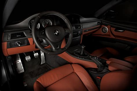2009 E92 M3 Fox Red Extended Interior with Aluminum ///M P ...