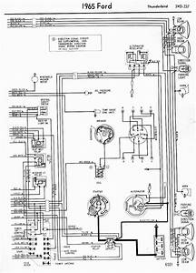 Wiring Diagrams Of 1965 Ford Thunderbird Part 2  U2013 Circuit