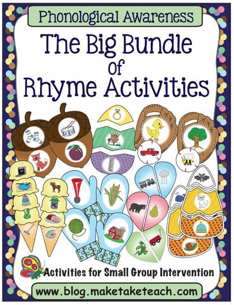 big bundle of rhyme make take teach