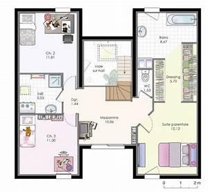 les 25 meilleures idees de la categorie plan maison etage With plan maison de maitre 9 plan de maison contemporaine exemple de maison moderne