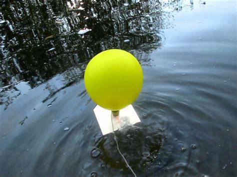heißluftballon selber bauen luftballon boot projekt 2 basteln