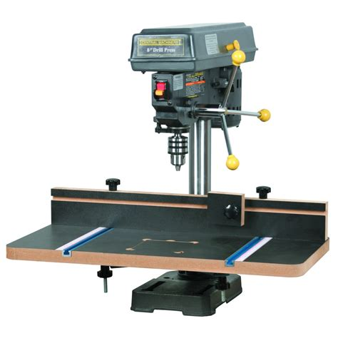 woodwork benchtop drill press table plans  plans