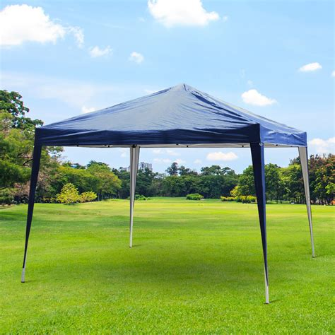 tent for patio outsunny 10x10ft easy pop up canopy wedding tent