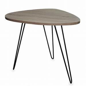 Tisch Höhe 60 Cm : pomax nierentisch tisch beistelltisch braun schwarz modern design 60cm online kaufen bei woonio ~ Whattoseeinmadrid.com Haus und Dekorationen