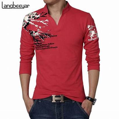 Shirts Shirt Sleeve Neck Mens Latest Trend