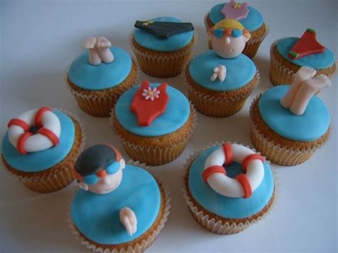 cupcake themes 26 best images about swimming pool treats on pinterest swimming pools swimming pool cakes and