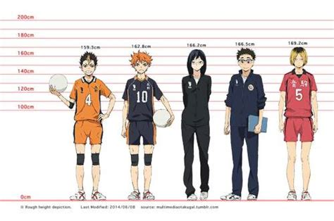 All wiki arcs characters companies concepts issues locations movies people teams things volumes series episodes editorial videos articles reviews features community users. ⁰ ⁰˶ ) • Expanded Haikyuu!! Height Chart (2014/06/21) ※...