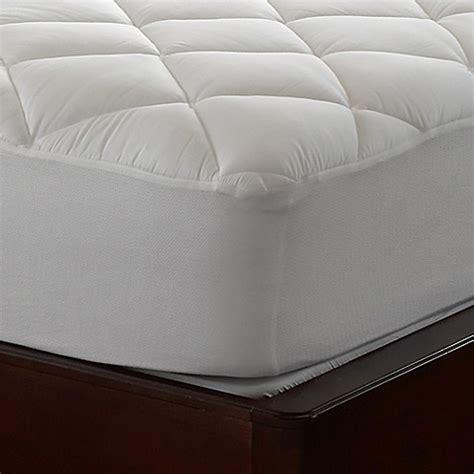 air mattress bed bath and beyond air 174 illuna ultra plush comfort mattress pad bed