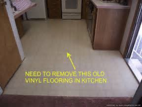 Mobile Homes Removing Vinyl Flooring, Floor Prep for