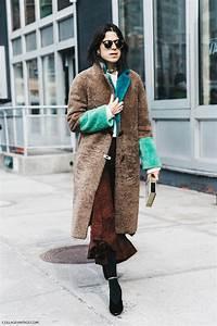 Fall Winter. Fur Coat | Collage Vintage