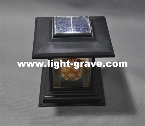 solar grave light memorial images