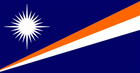 Majuro Marshall Islands Flag