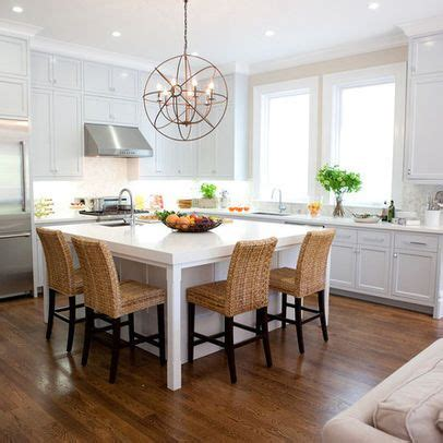 Kitchen Island With Seating For 2 by Square Island Seating On Two Sides Kitchen