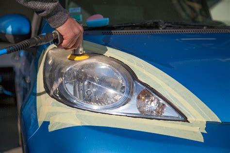 Rénovation Optiques De Phares De Voitures à La Motte Servolex