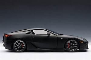 Matte Black Lexus LFA Die-Cast Model by AutoART Lexus