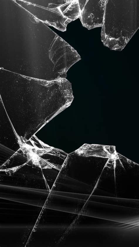 Broken Screen Wallpaper Iphone 6 Plus by Broken Glass Wallpaper For Iphone 6 Plus