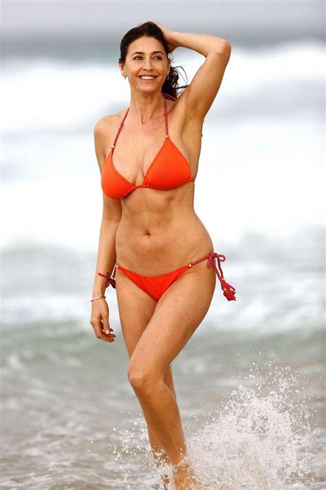 lisa swimsuit lisa snowdon in bikini in queensland