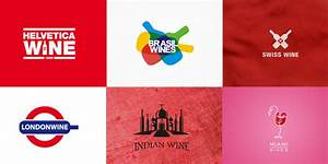 30+ Conceptual Country wise Wine Logo Design for designer ...
