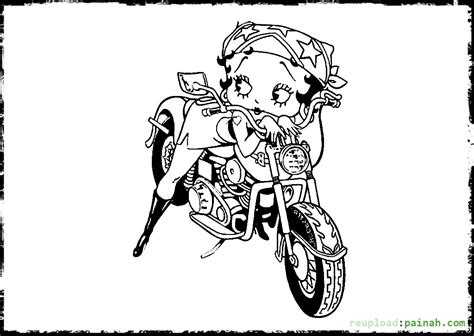 HD wallpapers coloriage betty boop a imprimer gratuit