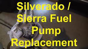 How To Replace The Fuel Pump In A Chevy Silverado Or Gmc