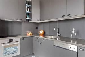 Plan De Travail Com : plan de travail en inox exemples de r alisations en photo ~ Melissatoandfro.com Idées de Décoration