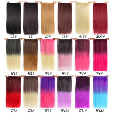 22 In 2019 Long Hair Extensions Synthetic Hair